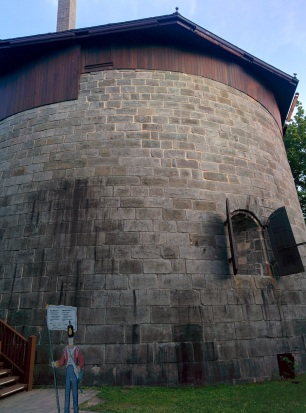 The tower is nice and round!